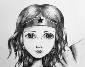 Wonder Woman Print