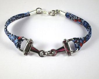 Bracelet riding bit NET liberty wilmslow berry B - Blue Navy