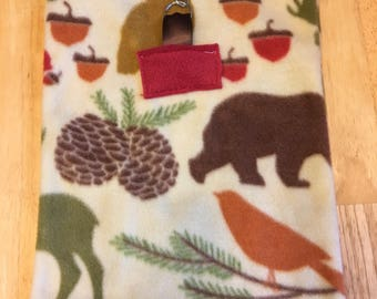 Small Pet Pouch - Natural Woodland