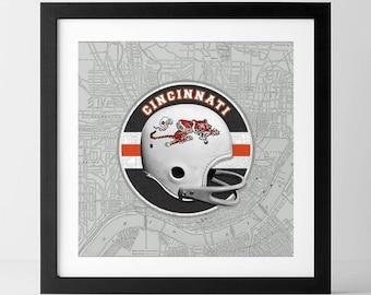 Vintage NFL: Cincinnati Bengals-inspired