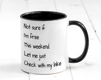 Bike Mug Etsy