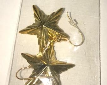 Gold Paparazzi earrings