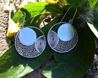 """Earrings """"Meli Melo snails"""""""