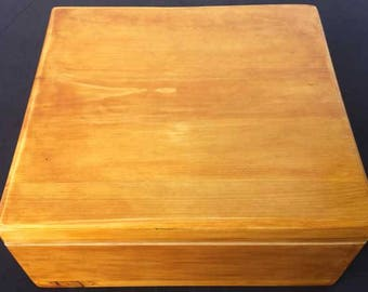 Made to order solid wood box
