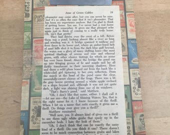 Clipboard with Anne of Green Gables pg 19