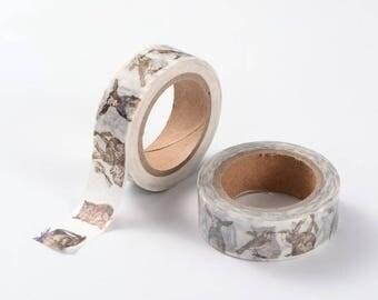 Washi Tape, Masking Tape, tape adhesive animals scrapbooking