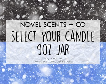 Select Your Candle 9oz Jar - Made to Order