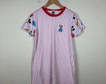 Vintage Mickey Mouse Dress Size S/M