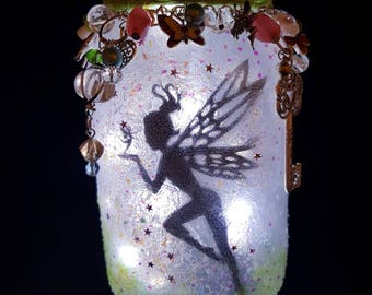 Fairy Jar, Fairy Light, Fairy Light Jar, Fairy Light Lantern, Fairy Jar light, Fairies in a Jar, Fairies light,