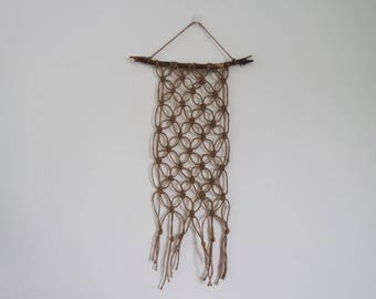 Small Jute Twine Wall Hanging