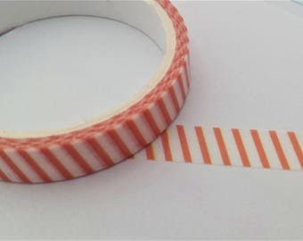 Red & White Washi tape