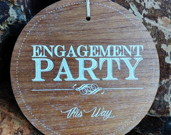 Engagement Party Sign