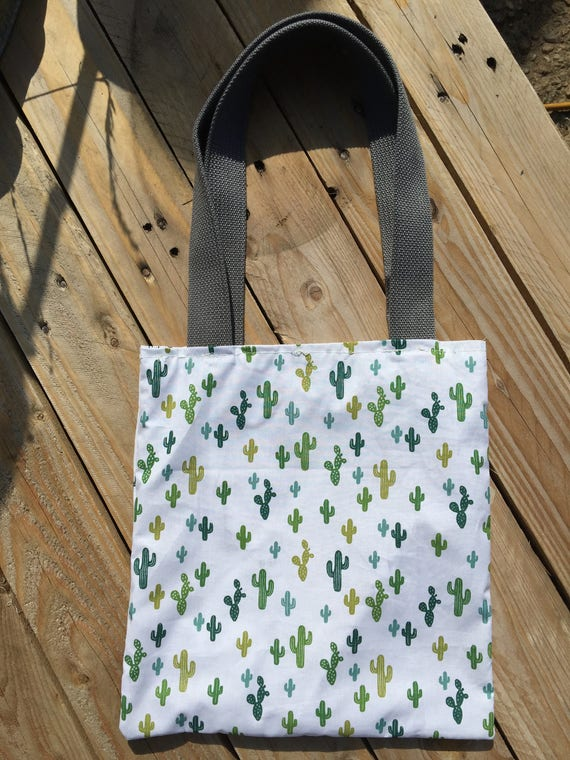 Tote bag, fabric bag, printed, reversible, fabric by colorieer