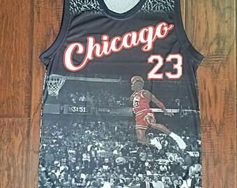 Chicago Bulls Michael Jordan Last Shot jersey