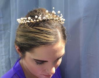 Bridal Pearl Tiara