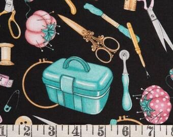 fat quarter RJR sew in love vintage sewing