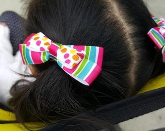 retro bow clip