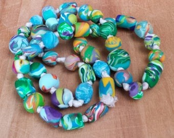Colorful Handmade Beads