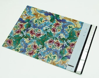 10 - 12x15.5   inch Paisley Designer Poly Mailers Envelopes Boutique Custom Bags