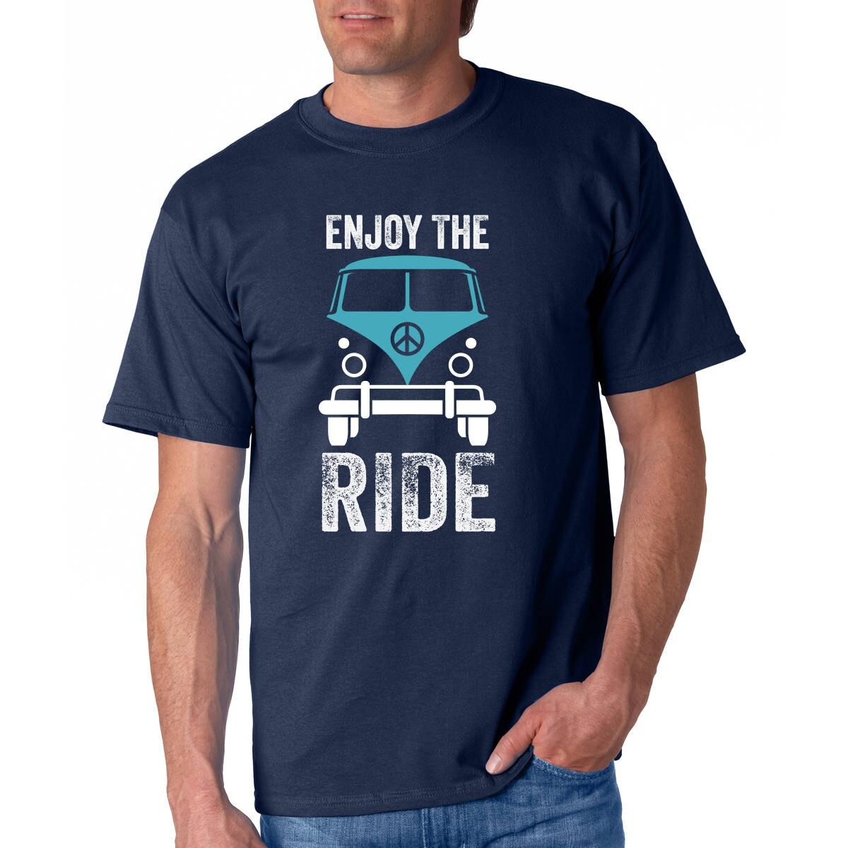 Vw Bus Tshirt Funny Tshirts For Men Blue Vw Bus Shirt Gift