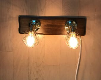 Vintage Two Light Fixture