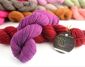 Lot 5,6,7,8,9,10 Skeins Cathay 4 with Silk and Tibetan Yak Yarn, 160 meters/skein, 12 colors , hand knitting yarn, dyed yarn