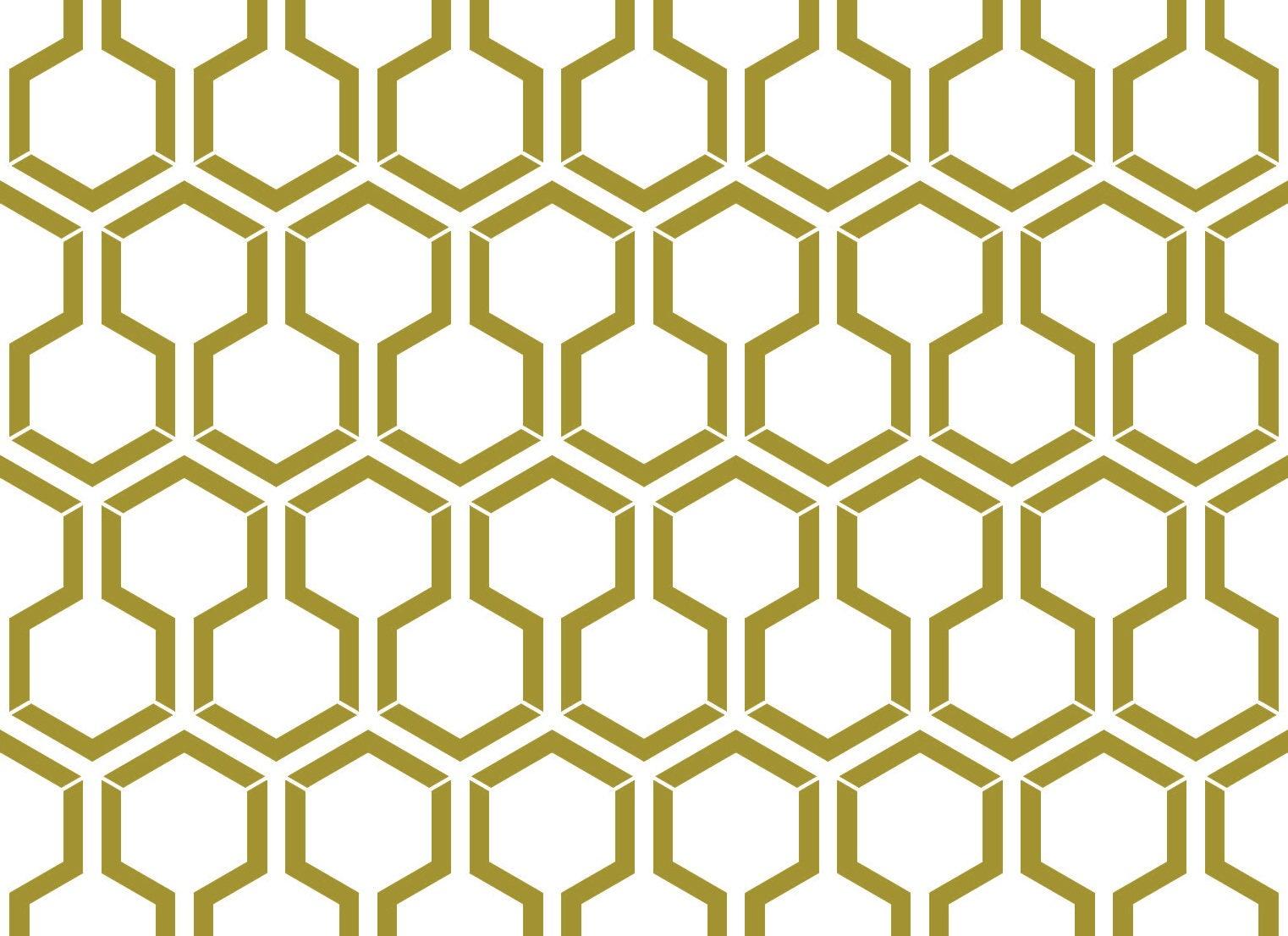Honeycomb Stencil, Large Wall Stencil, Furniture Stencil, Wall ...