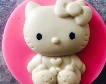 Kawaii Kitty mold
