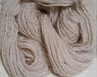 California long-wool/Alpaca blend, Double-Ply DK Handspun Yarn (Lot 22)