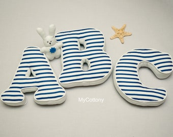 Throw Pillow, Letter Pillow, Baby Pillow, Alphabet Letter, Initial Pillows, Fabric Letters, Alphabet Pillow, Letter Cushion, Custom Pillow