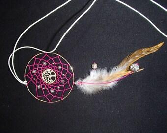 baobab dream catcher necklace