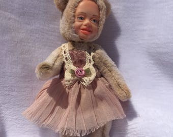 Teddy baby doll