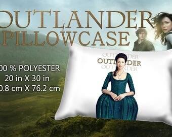 Outlander Claire Fraser Caitriona Balfe  Pillowcase