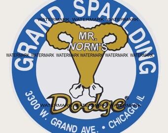 Grand Spaulding Dodge Large Sticker/Decal