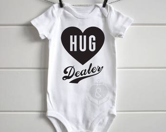 Hug Dealer - Onesie Graphic