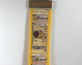 Harry Potter Hufflepuff Key Fob