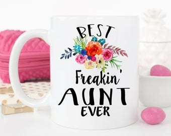 Best Aunt Ever mug, BAE, Aunt Birthday, New Aunt Gift, Pregnancy Reveal, Baby Announcement to Sister, Gift for Auntie, Aunt to be, Aunt Mug