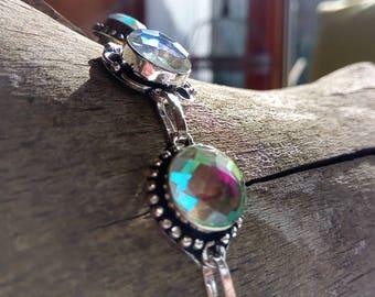 Mystic Topaz bracelet