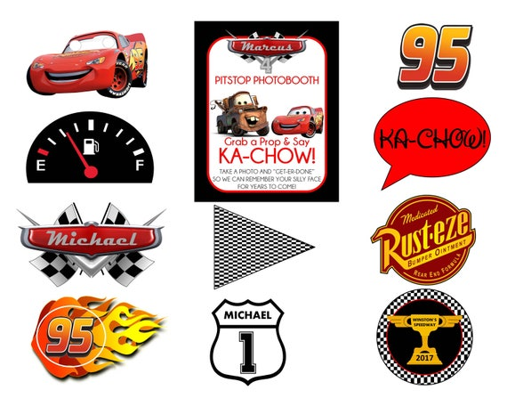 Eloquent image pertaining to lightning mcqueen printable decals