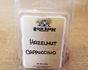 Hazelnut Cappuccino Soy Wax Melts