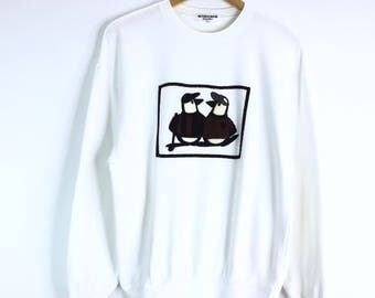 Rare!!! Vintage Munsingwear Sweatshirt Descente Classic Sweat Jumper Pullover Grand Slam 1886 Made in Japan