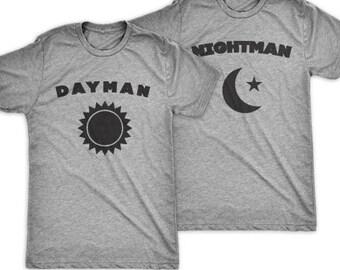 Dayman & Nightman | Matching Best Friends' T Shirts