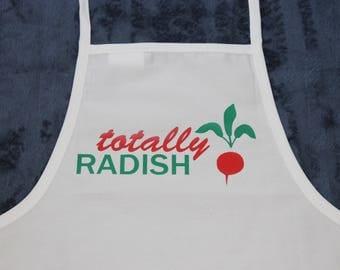 Totally Radish - kids apron