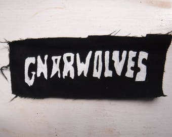 Gnarwolves Punk Hand Painted Patch