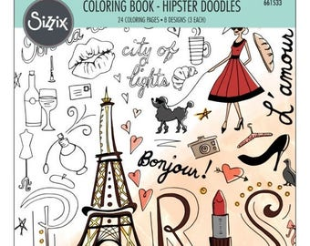 Fall Clearance Sizzix Coloring Book