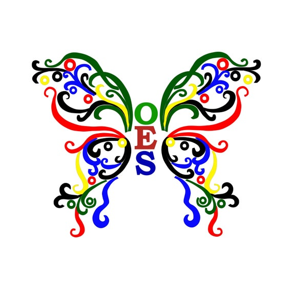 oes butterfly silhouette cut files jpeg svg eps png gsp rh etsy com oes clipart pinterest oes clipart pinterest