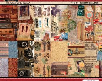 7gypsies Wanderlust 8x8 Paper Pad