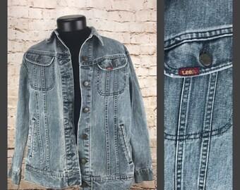 90's Lee Ms. Denim Jean Jacket - Womens Size 9/10