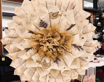 Dove wreath