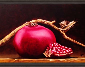 The snail who loved pomegranate